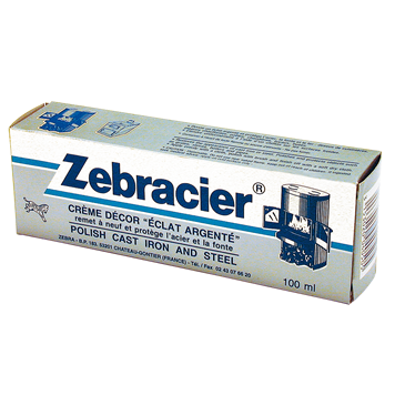 Zebracier for Nettoyer de la fonte